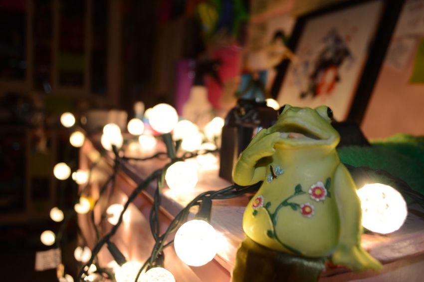 Night Indoors  Illuminated Christmas Lights Christmas Decoration No People Close-up