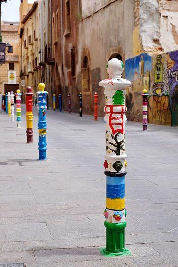 Multi Colored No People Day Built Structure Architecture Outdoors Tarragona Tarragona, España Art Streetphotography Street Photography