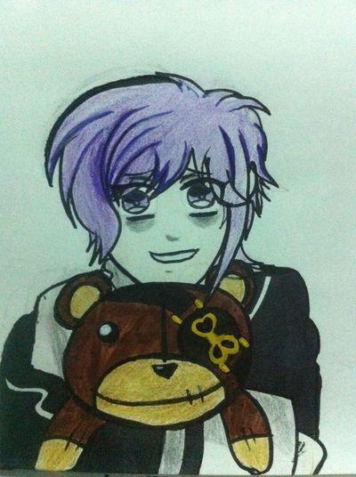 Kanato-kun Hi! Check This Out Anime Diabolik Lovers