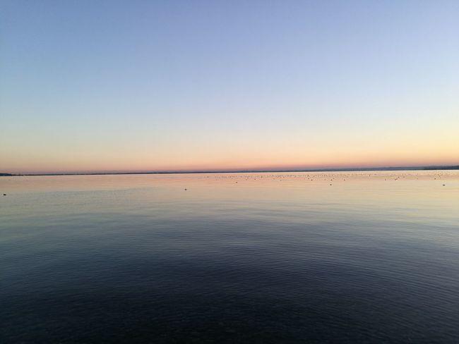 Sunset Garda Lake