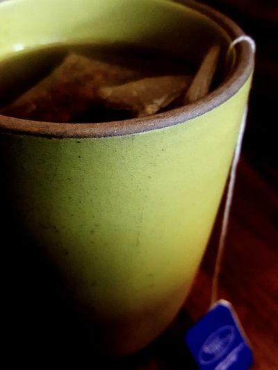 Tea Time Tea Hotbeverage Camomile Tea Quiet Moments Green