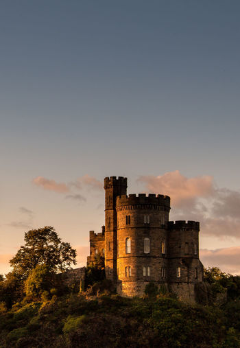 Edinburgh Architecture Castle Goldenlight History No People Outdoors Tower