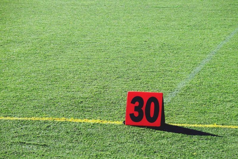 30 yard line Football Sport