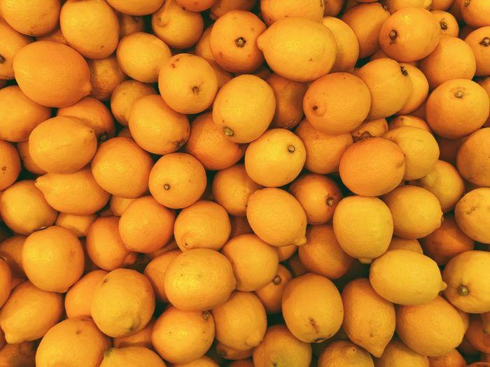Lemon Food And Drink Fruit Healthy Eating Food Abundance Full Frame Freshness Large Group Of Objects