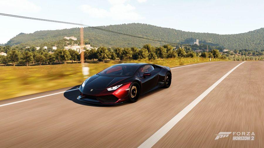 ForzaHorizon2 Lamborghini Sport Sports Race Competition Auto Racing Speed Racecar Motorsport Car Day