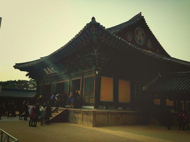 Oriental Temple South Korea