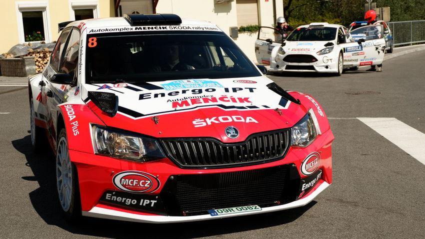 Fujifilm Fujifilm_xseries Fujifilm X-A3 Rally Rally Car Skoda Red Land Vehicle Car Street Vehicle EyeEmNewHere