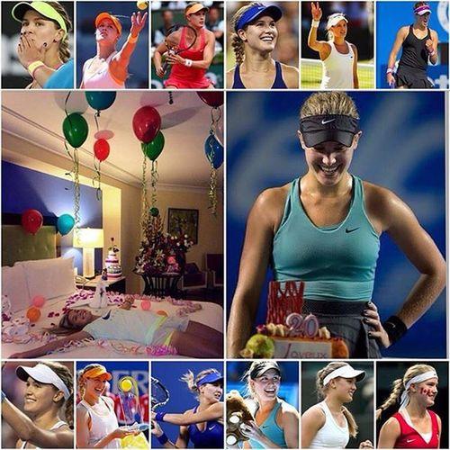 Happy Birthday Genie Bouchard HappyBirthday Geniebouchard Bouchard EugenieBouchard Tennis Tennisplayer Favourite Like4like Likeforlike Followforfollow Follow4follow Happybirthdayeugeniebouchard