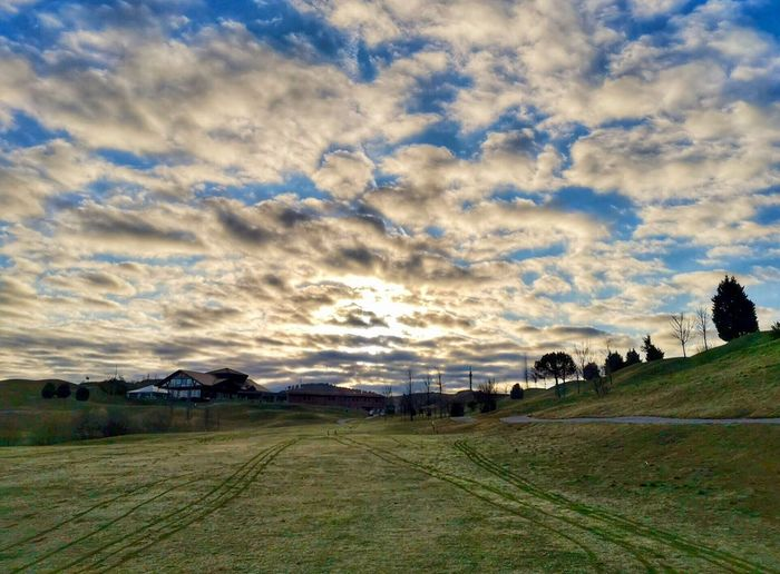 Cloud - Sky Sky Nature Beauty In Nature Environment Scenics - Nature Landscape No People Tranquil Scene Field Tranquility Outdoors Land Day