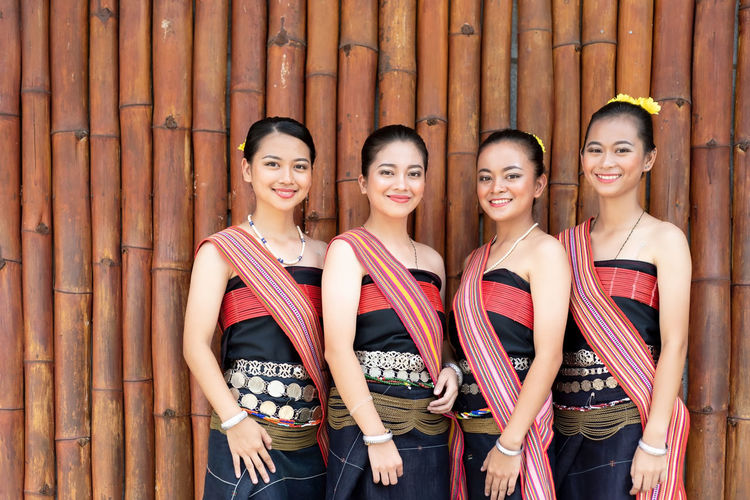 Group portrait of Kadazan Dusun young girls in traditional attire from Kota Belud district during state level Harvest Festival in KDCA, Kota Kinabalu, Sabah Malaysia. People Malaysia Borneo Traditional Sabah Costume Kinabalu Ethnic Attire Kota Diversity Malaysian Beautiful Culture Festival Woman Celebration Group Indigenous  Asian  Young East Kadazandusun person Girl Kaamatan Harvest Face Dusun Kadazan Tribe Day Parade National Women Female Background Outdoor Together Lifestyle Smiling Travel Adult Fashion Attractive Cheerful Village Colorful Pretty Portrait Young Adult Young Women Happiness Group Of People Kota Kinabalu