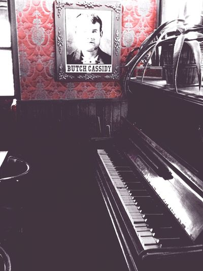 Antique Piano Old Picture In The Restaurant The Places I've Been Today Taking Photos