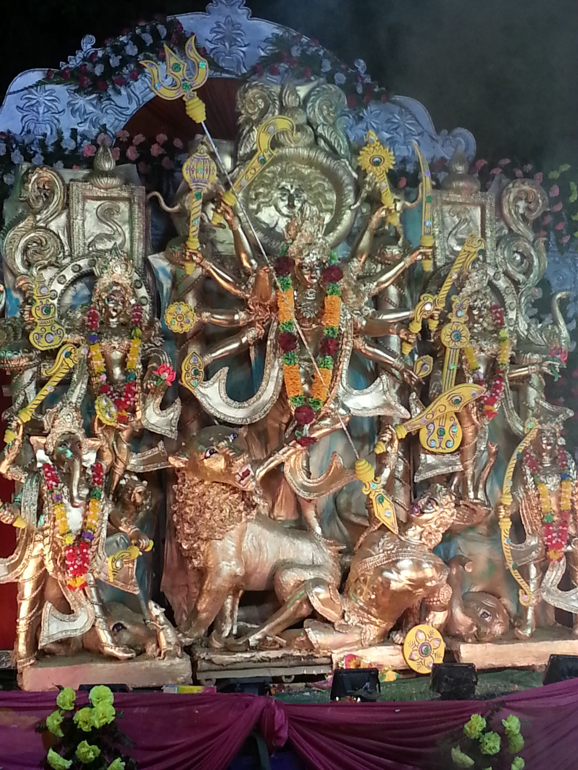 art and craft, art, creativity, indoors, human representation, statue, religion, sculpture, animal representation, decoration, spirituality, tradition, cultures, craft, multi colored, for sale, hanging, large group of objects, abundance