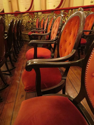 Absence Brazil Chair Empty In A Row Indoors  Manaus Manaus Theatre Manaus, Amazonas, Brazil Manaus.Brasil Old-fashioned Seat South America Travel The World