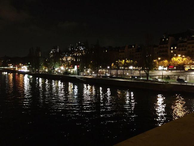 Paris on the water. Seineriver