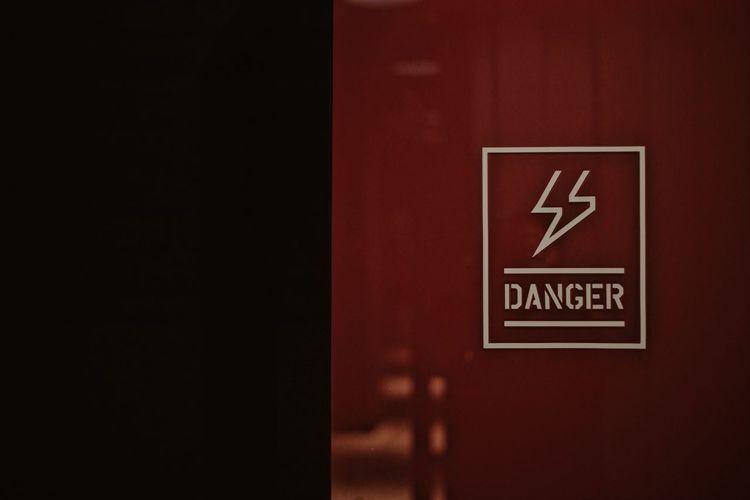 Danger Zone Danger Sign Sign Signage Text Close-up Danger Danger Signs Dangerous Harzard Indication Infomation Information Sign Message Warning Warning Sign Western Script