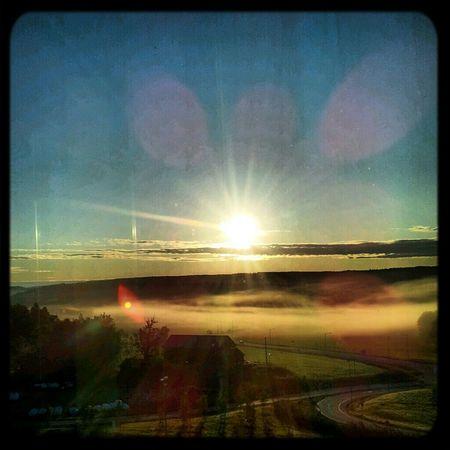 Nature Sunrise View Good Morning Enjoying The Sun Norway Hello World Venus Transit Mobile Love