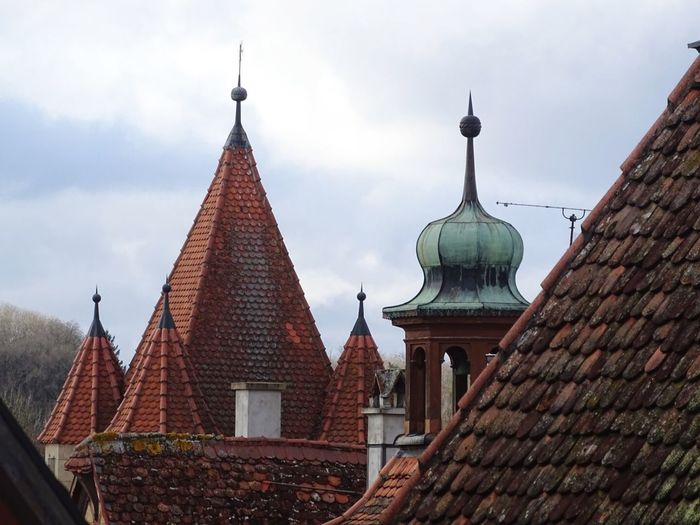 Architecture Oldhouse Rooftop Roof Place Of Worship Religion No People Sky