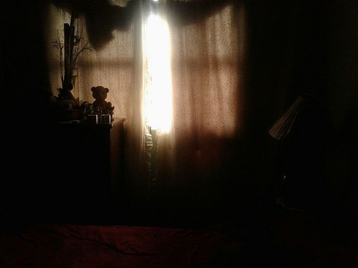 My temple of dreams. Room Sunset Through The Window No People Teddy Bears Sleeptime