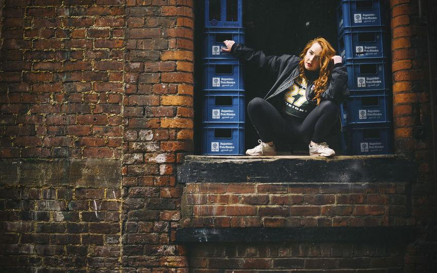 Dancer Dance Street Dancer Ginger Attitude Hip Hop Confident  Rythm Street Photography Urban Urban Dance Grime Freestyle Manchester Manchester Dancer Rooftop Chimneys Punk Model Modelling Portrait Street Dance Looking Out Grime Artist Ginger Girl