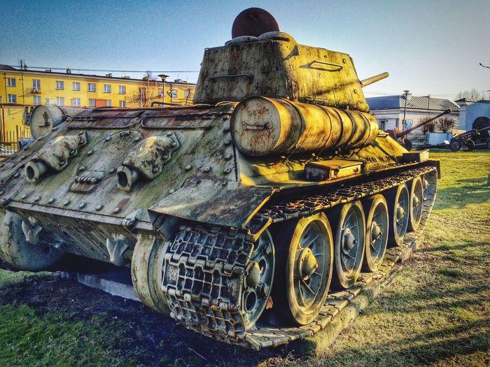 Tank Ww2 World War 2 Winter Transportation Museum HDR