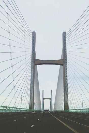 Learn & Shoot: Layering Severn Bridge Structure Engineering Manmade Bridge