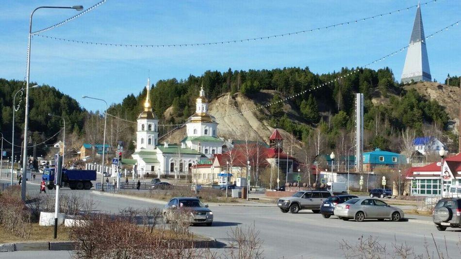 My Town Church ))) Siberia Khanty-Mansiysk дыхание севера мойгород сибирь