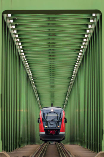Train Tracks Corrugated Iron Day Green Color Indoors  Industry No People The Way Forward Train Train - Vehicle Train Ride Train Track Train_of_our_world Trainphotography Trains Trains_worldwide Trainspotting Traintracks Transportation Connected By Travel Going Remote Adventures In The City