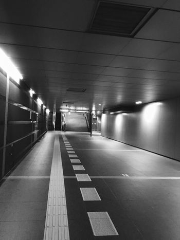 Capture The Moment Urban Geometry From Where I Stand IPhoneography Black & White Underpass