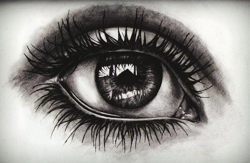 Art Love Drawing ❤ Eye