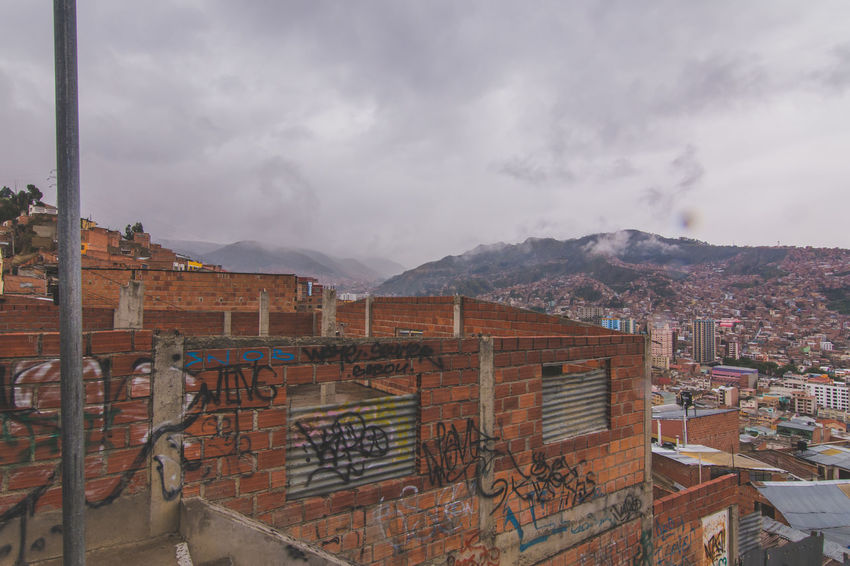 Architecture Built Structure Building Exterior Sky Residential Building Cloud - Sky Mountain Residential Structure City Residential District Roof Cloud Cloudy Day Outdoors Mountain Range Human Settlement No People History Storm Cloud Office Building La Paz, Bolivia Bolivia La Paz BOLIVIA ❤