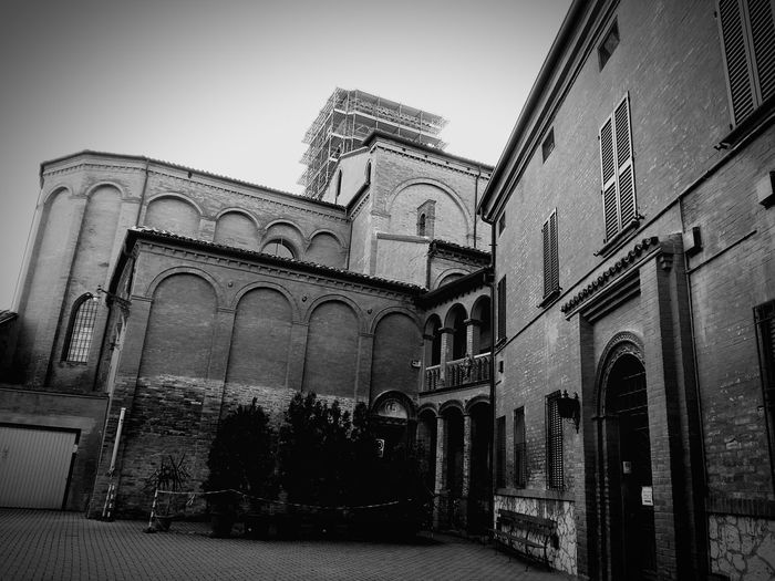 Architecture Built Structure History Travel Destinations Outdoors Building Exterior Day No People Arch Bondeno Italy Emilia Romagna