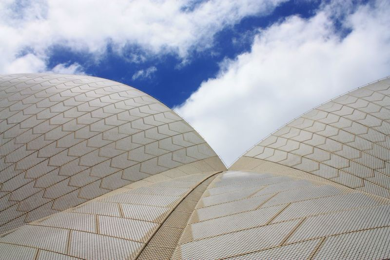 Close up..... Cloud - Sky Architecture Day Sky Travel Destinations Modern Outdoors No People Built Structure