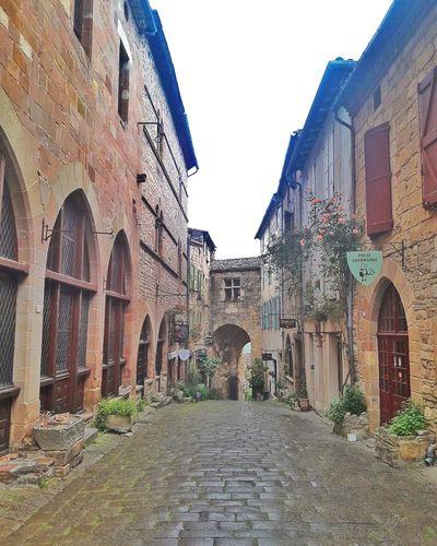 CORDES SUR CIEL Village France City Ancient Civilization Arch History Architecture Sky Building Exterior Built Structure