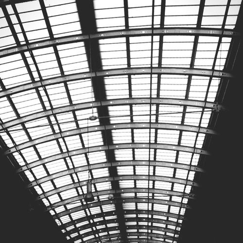 Paddington Railway station London 2016 Architecture Urban Lines Blackandwhite