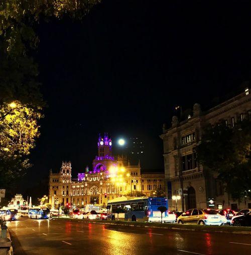 Fullmoon Madrid Capital City Holliday's October Love Iphone7 Me Walktime