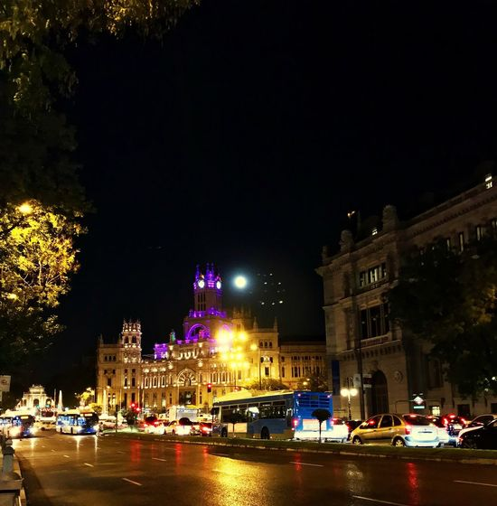 Fullmoon Madrid Capital City Holliday's October Love Iphone7 Me Walktime