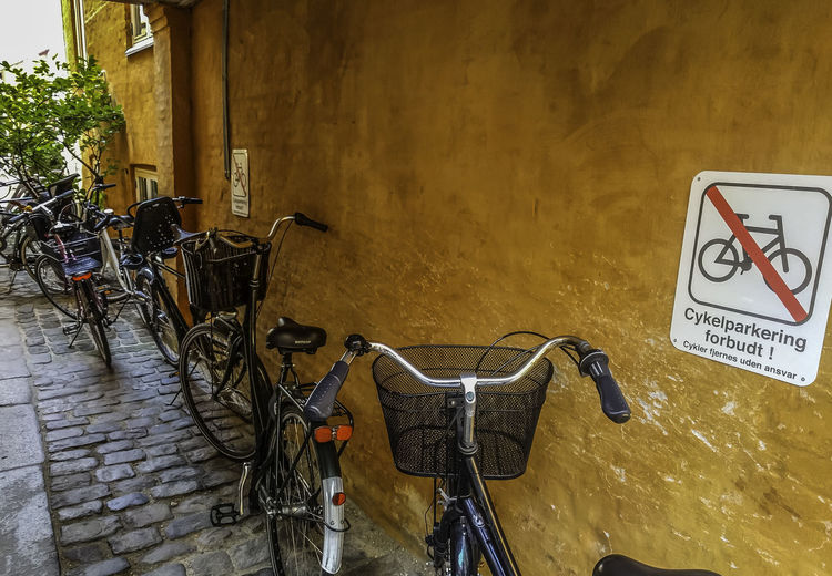 No Bicycles Sign Bicycle Bike Bike Parking Bikes City Land Vehicle No Bike No Bikes Allowed No People Parking Parking Bicycle Parking Bikes Sign Signs Transportation