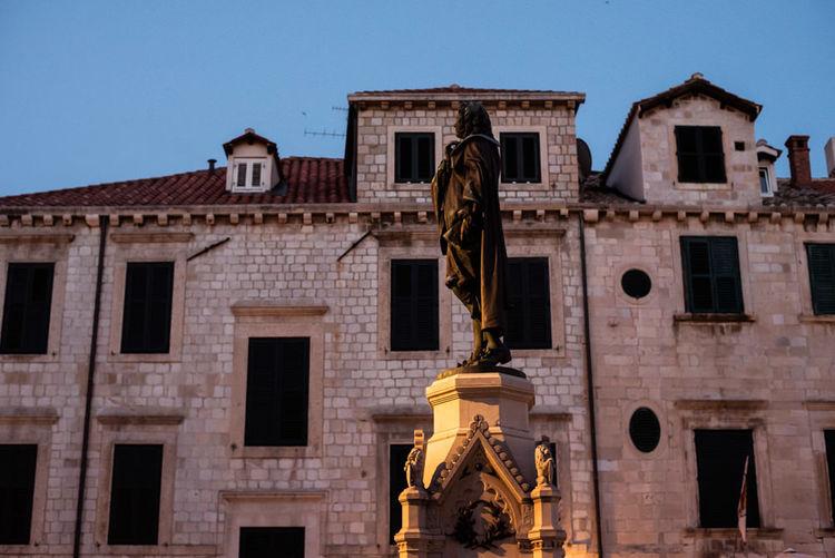 Statue Dubrovnik Croatia King's Landing Travel Travel Photography Traveling