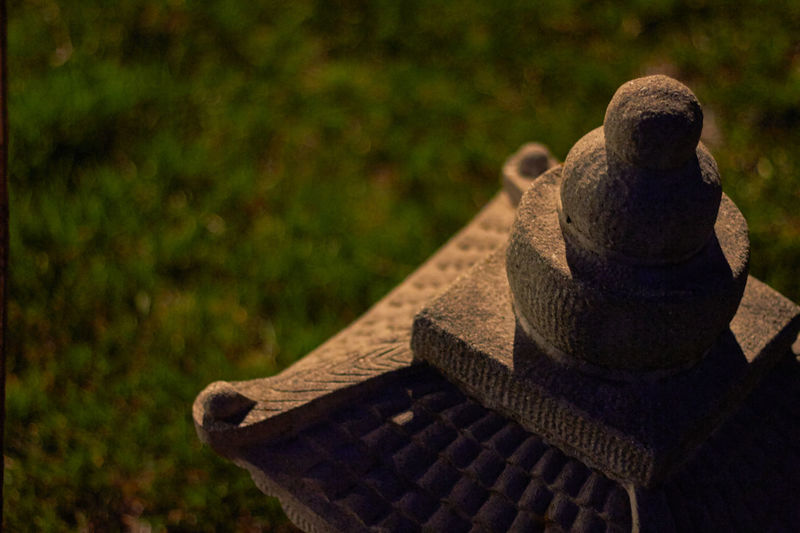 Backgrounds Cement Close-up Cultures Detail Focus On Foreground Night No People Padoga Single Object Temple Textured