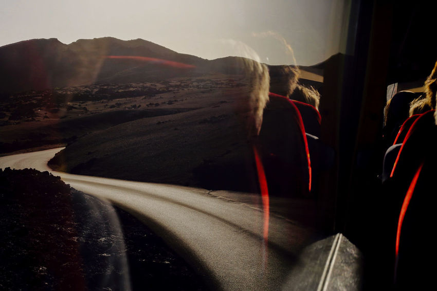 Red. Lanzarote. Coach Lanzarote Red Reflection Road Travel Volcanoes Bus Landscape Mode Of Transportation Motion Mountain Seats Tourism Transportation Travel Destinations Volcano Winding Winding Road Winding Roads Windows The Traveler - 2018 EyeEm Awards