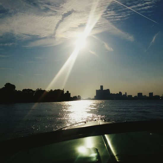 Amazing day yesterday with a very special friend! Taking Photos Enjoying Life Boating Offshorelife DetroitSkyLine Summerend Summerevening