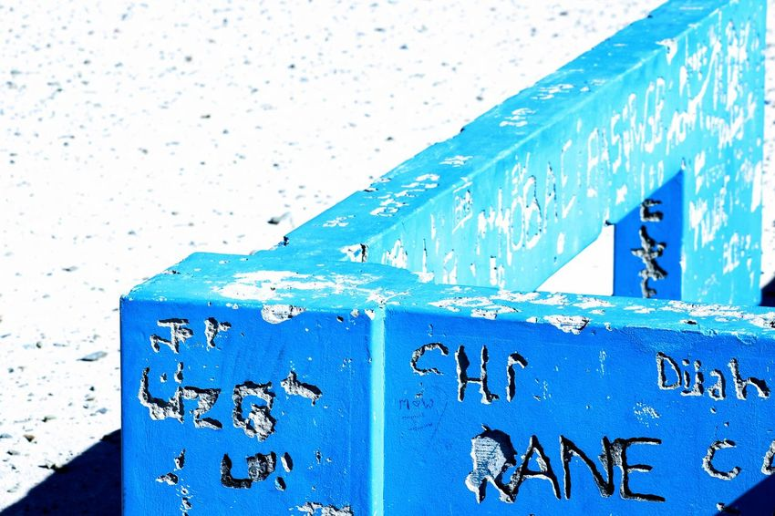 Architecture Blue Sea Close-up Built Structure Weathered Rainy Season Civilization Worn Out Rainfall