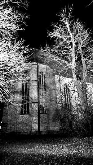 Church Nightphotography Blackandwhite Taking Photos