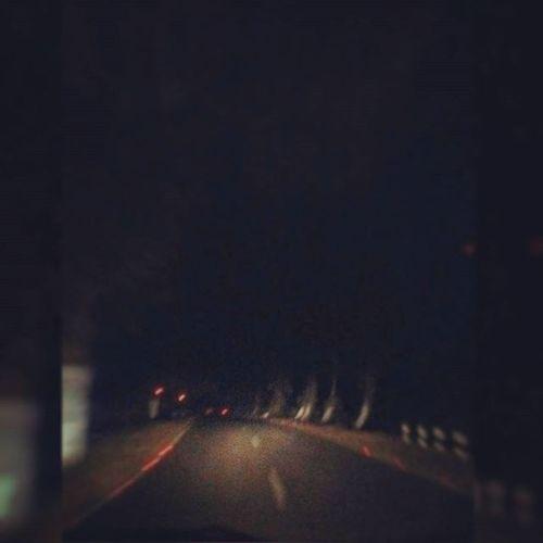 """Main nikla tha x""""D ooo gaddi leke :p ;) x""""D Eeek mooddd aaayaaa :* main dil uthe choodd aayaaa <3 Nyt_ryd Car Ride  Sexy_raaste Lonely raaste No_streetlights <3 Those_laal_laal_reflectors <3 :*"""