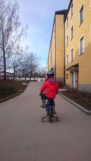 Riding Bike Kids Playing Kids Bike Bicycle Child Playing Childsplay Child Photography No Face Springtime Spring