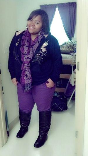 my fav color purple