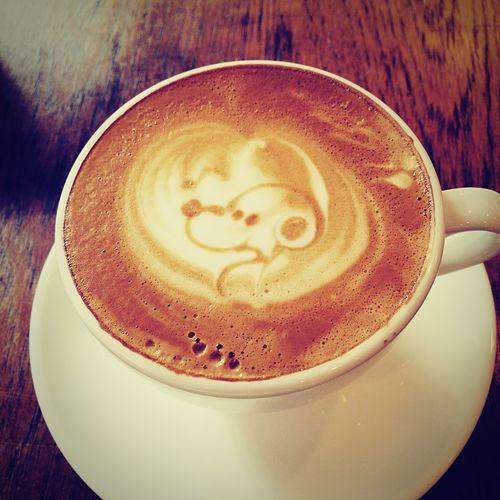 I Love Snoopy💕 Cafe Latte
