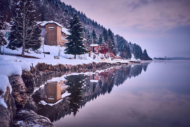 Réveil au lac