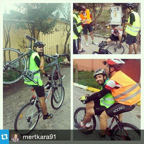 Repost from @mertkara91 with @repostapp — Bizde yol yardımı her zaman ve her şekilde itinayla yapılır..;-) Yaşasın Kubik Kardesligi yaşasın doğa dostu bisiklet bike drive tour bicycle friends Kocaeli uzuntarla