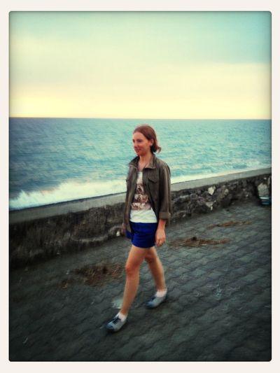 Walking Seaside Hello World That's Me